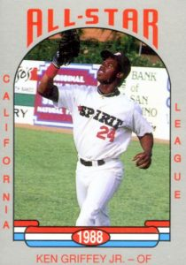 Ken Griffey Jr. Minor League and Pre-Rookie Card Guide 6