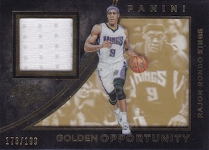 2015-16 Panini Black Gold Basketball Golden Opportunity Rando