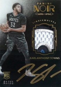 2015-16 Panini Noir Basketball Cards 23