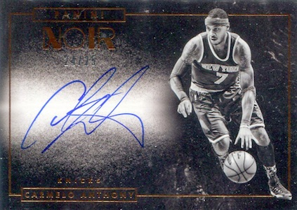 2015-16 Panini Noir Basketball Cards 25