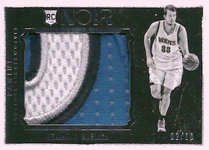2015-16 Panini Noir Basketball Cards 29