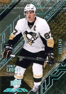 2015-16 UD Black Hockey Base Crosby