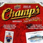 2015-16 Upper Deck Champs Hockey Cards