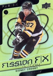2015-16 Upper Deck Fusion ePack Hockey Fission FX Achievement Physical Sidney Crosby