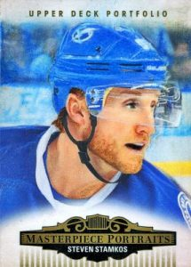 2015-16 Upper Deck Portfolio Hockey Masterpiece Portraits Steven Stamkos