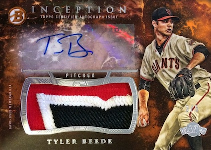 2016 Bowman Inception Baseball Cards - Product Review & Box Hit Gallery Added 30