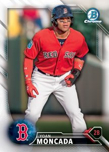 2016 Bowman National Refractors Baseball moncada