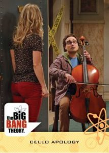 2016 Cryptozoic Big Bang Theory S6 & S7 Base Card