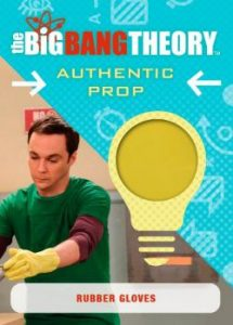 2016 Cryptozoic Big Bang Theory S6 & S7 Prop:Wardrobe Card Rubber Gloves