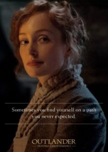 2016 Cryptozoic Outlander Season 1 Quotes
