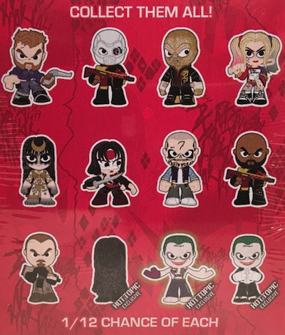 2016 Funko Suicide Squad Mystery Minis Hot Topic