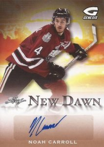 2016 Leaf Genesis Hockey New Dawn Autographs
