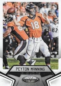 2016 Panini Certified Football Base Peyton Manning