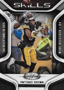 2016 Panini Certified Football Skills Antonio Brown