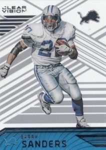 2016 Panini Clear Vision Football Base Barry Sanders