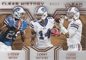 2016 Panini Clear Vision Football Cards 27