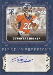 2016 Panini Football Retail First Impressions Autographs