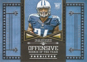 2016 Panini Football Retail Predictor Offensive Rookie of the year