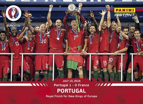 2016 Panini Instant Euro Soccer Cards - Updated 21