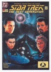 2016 Rittenhouse Star Trek The Next Generation Portfolio Prints Series 2 Comic Book