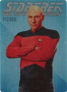 2016 Rittenhouse Star Trek The Next Generation Portfolio Prints Series 2 Rendered Art Metal Picard