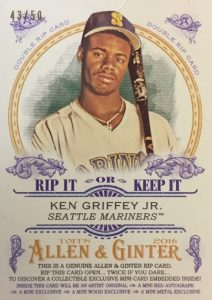 2016 Topps Allen & Ginter Baseball Cards - Review & Hit Gallery Added 48
