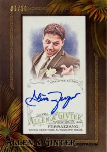 2016 Topps Allen & Ginter Baseball Cards - Review & Hit Gallery Added 31