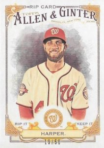 2016 Topps Allen & Ginter Baseball Cards - Review & Hit Gallery Added 47