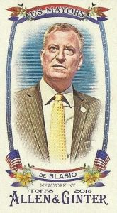 2016 Topps Allen & Ginter Baseball Cards - Review & Hit Gallery Added 45