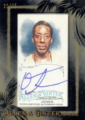 2016 Topps Allen & Ginter Non-Baseball Autographs Orlando Jones