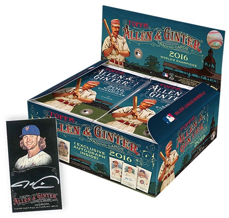2016 Topps Allen & Ginter X Baseball Cards 1