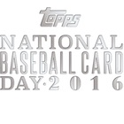 2016 Topps National Baseball Card Day Promo Cards