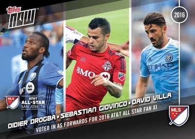 2016 Topps Now MLS Soccer Cards - MLS Cup 1