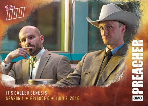 2016 Topps Now Preacher Trading Cards - Episode 10 25