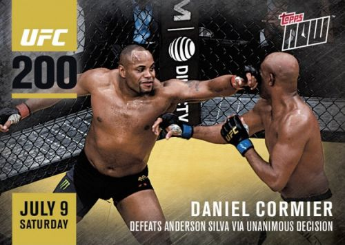 2016 Topps Now UFC MMA Cards 20