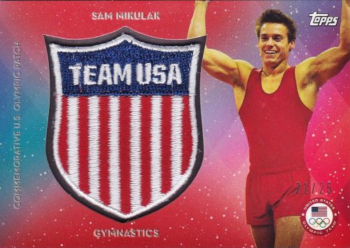 2016 Topps US Olympic and Paralympic Team Hopefuls Trading Cards 29