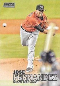 2016 Topps Stadium Club Baseball 200 Jose Fernandez