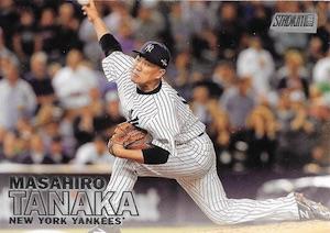 2016 Topps Stadium Club Baseball Base 121 Masahiro Tanaka