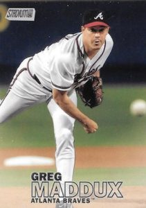 2016 Topps Stadium Club Baseball Base 122 Greg Maddux