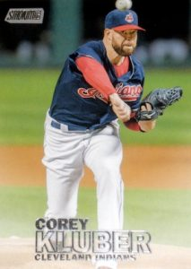 2016 Topps Stadium Club Baseball Base 125 Corey Kluber