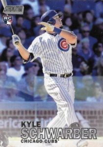 2016 Topps Stadium Club Baseball Base 277 Kyle Schwarber RC