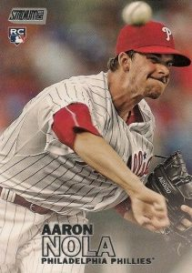 2016 Topps Stadium Club Baseball Base 295 Aaron Nola RC