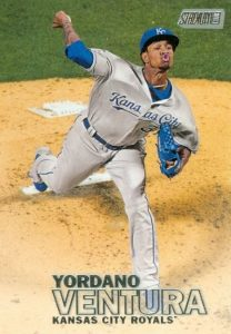 2016 Topps Stadium Club Baseball Base 56 Yordano Ventura
