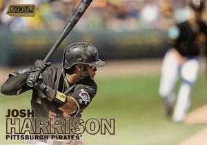 2016 Topps Stadium Club Baseball Base Gold 137 Josh Harrison