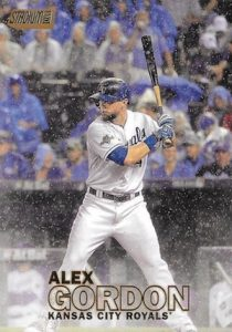 2016 Topps Stadium Club Baseball Base Gold 203 Alex Gordon