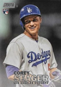 2016 Topps Stadium Club Baseball Variations Corey Seager