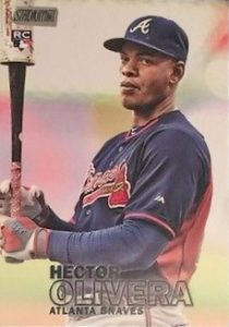 2016 Topps Stadium Club Baseball Variations Hector Olivera
