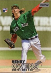 2016 Topps Stadium Club Baseball Variations Henry Owens