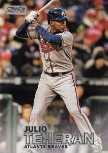 2016 Topps Stadium Club Baseball Variations Julio Teheran