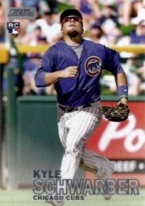 2016 Topps Stadium Club Baseball Variations Kyle Schwarber